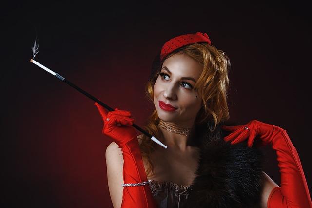 herečka kabaretu