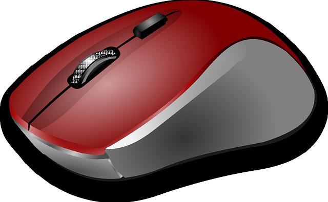 červená myš